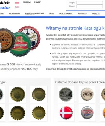 Katalog kapsli polskich bez sygnatur