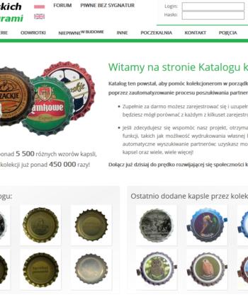 Katalog kapsli polskich