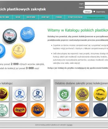 Katalog polskich zakrętek plastikowych